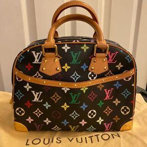 Authentic Louis Vuitton multicolor trouville blk
